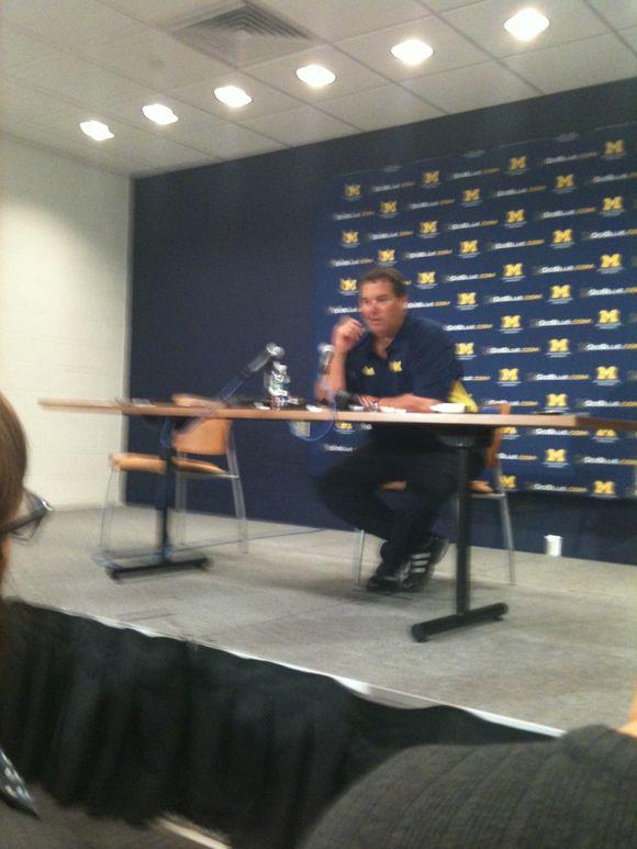 Brady Hoke Presser